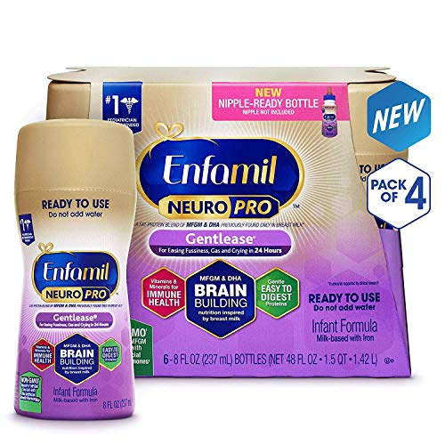Enfamil NeuroPro Gentlease Infant Formula - Clinically Proven to Reduce Fussiness, Gas, Crying in 24.