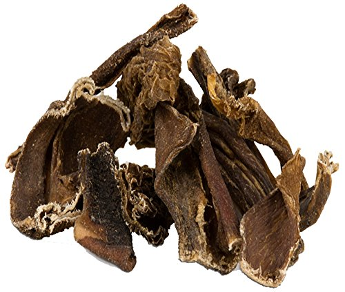 20 kg getrockneter Pansen Rinderpansen Blättermagen vom Rind Kausnack 2 - 10 cm
