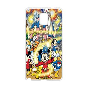 SANLSI Disney princesses Case Cover For samsung galaxy Note4 Case