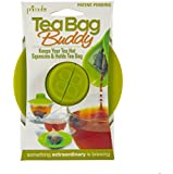 Primula Tea Bag Buddy - Easy to Use - Mess Free - Multipurpose - 100% Silicone - Green