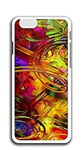 FSKcase? Abstract Circles Oil Painting hard PC apple iphone 6 case