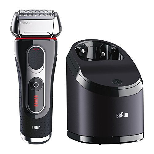 Braun Series 5 5090cc Electric Foil Shaver for Men with Clean & Charge Station, Electric Men's Shaver, Razors, Shavers, Cordless...