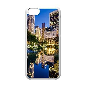 Central Park 4 IPhone 5C Case, Iphone 5c Cases for Girls Protective Design Protective Vinceryshop - White