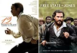 Stories Of Revolution + Freedom: 12 Years A Slave & Free State Of Jones 2 DVD Bundle