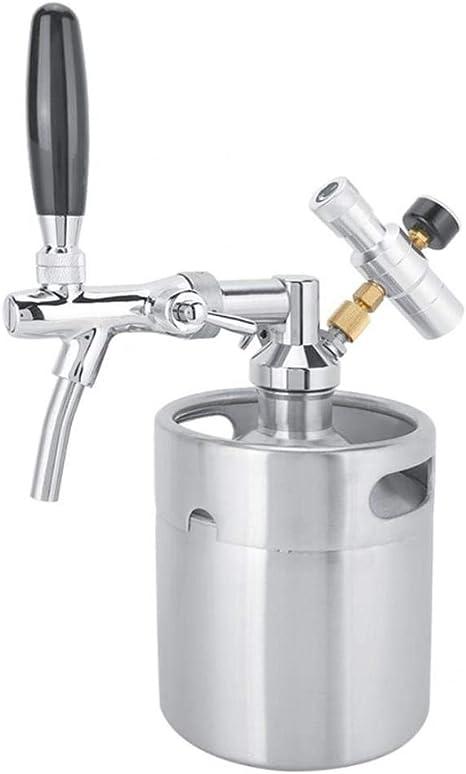 Elaboración de Cerveza de Acero Inoxidable 2L Homebrew Mini ...