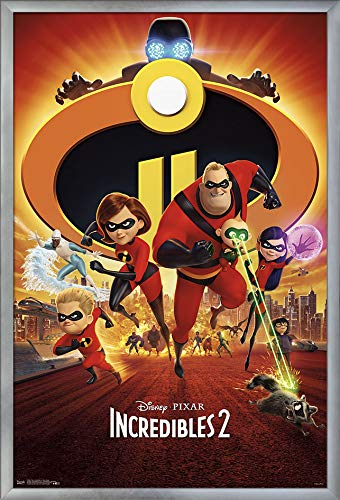 Trends International The Incredibles 2 - One Sheet Wall Poster, Multi