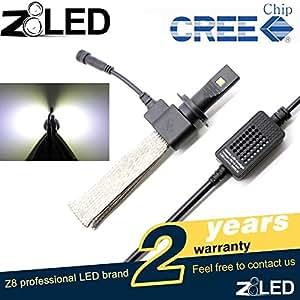 Amazon.com: (Pack of 2) Z8 LED 5000 Lumen 40w Headlight