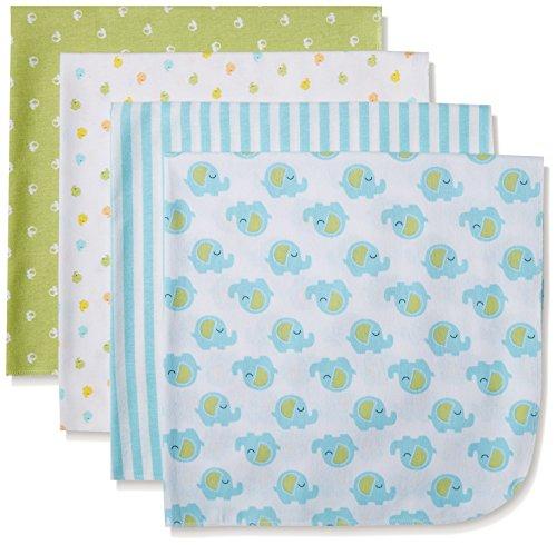 gerber-baby-unisex-4-pack-flannel-receiving-blanket-elephant-30x30