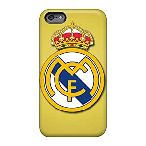 Anti-Scratch Hard Cell-phone Case For Apple Iphone 6 With Provide Private Custom High Resolution Real Madrid Cf Skin JoannaVennettilli