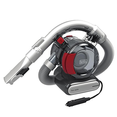 BLACK+DECKER Flex Car Vacuum, 12V Corded (BDH1200FVAV)