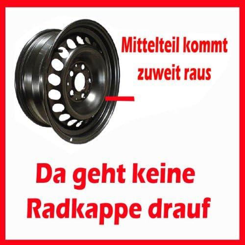 YRV Sirion Radkappen DRF schwarz matt 14 Zoll passend f/ür Daihatsu Materia