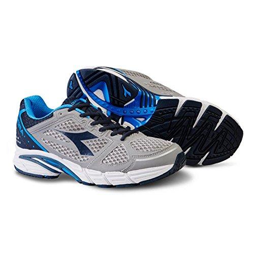 Diadora M. Shin Dano III Zapatillas de correr chuhe gris de color azul