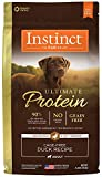 nature best dog food - Instinct Ultimate Protein Grain Free Cage Free Duck Recipe Natural Dry Dog Food by Nature's Variety, 4 lb. Bag
