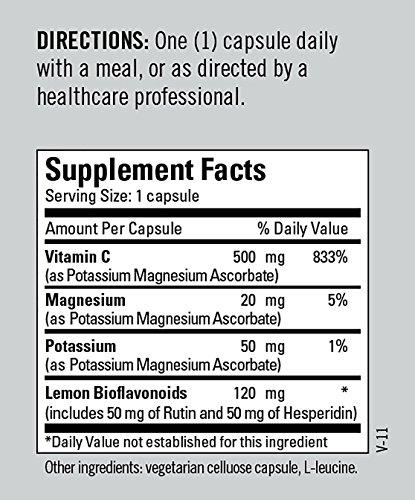 Metabolic Maintenance - Buffered Vitamin C - 500 mg with Bioflavonoids, 100 Capsules by Metabolic Maintenance (Image #5)
