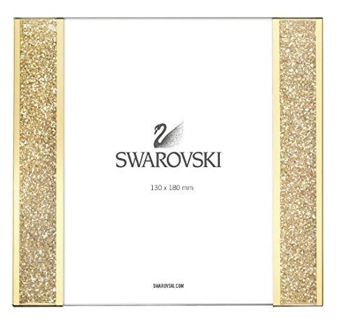 (Swarovski #5102144, Starlet Picture Frame, Golden Shadow)