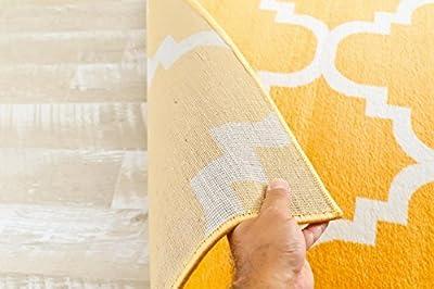 4518 Gray Moroccan Trellis 2'0x3'4 Area Rug Carpet Large New