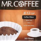 Mr Coffee 8-12 Cup Coffee Filters, 50 Filters