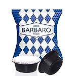 100 Capsule compatibili Uno System Barbaro Caffe' Cremoso Napoli Miscela Blu