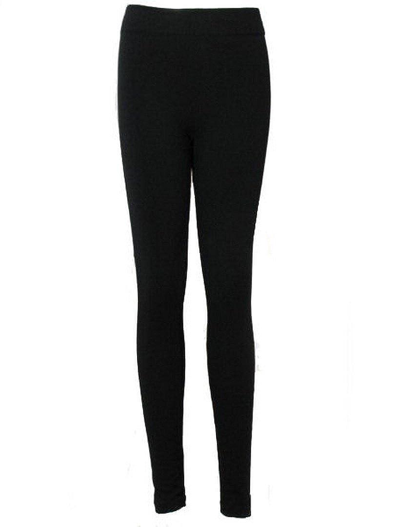 Love Lola Leggings Womens High Waist Thermal Thick Fleece Lined Winter Leggins Black