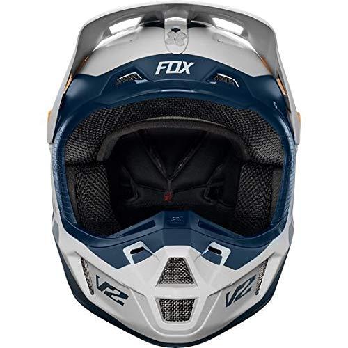 Fox 2019 Murc V2 - Casco de Motocross para Adulto (Talla Grande, 59-60 cm), Color Gris Claro: Amazon.es: Deportes y aire libre