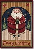 Cheap Santa's Gift Christmas House Flag Holiday Yard Banner 28″ x 40″
