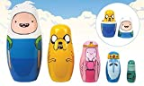 Adventure Time Matryoshka (nesting doll) five bodies set - Best Reviews Guide