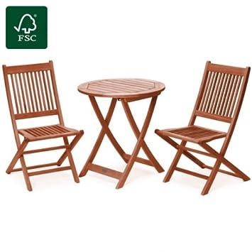 Amazon De Belardo Gartenmobel Set Sitzgruppe Sitzgarnitur Holz