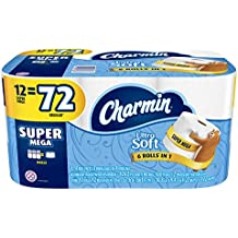 Charmin Ultra Soft Toilet Paper Super Mega Rolls, 12 ct