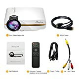 ELEPHAS LED Movie Projector, with 2018 Updated LCD