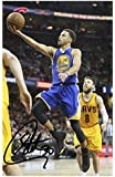 Stephen Curry - Golden State Warriors Signed Autographed A4 Photo Print Poster