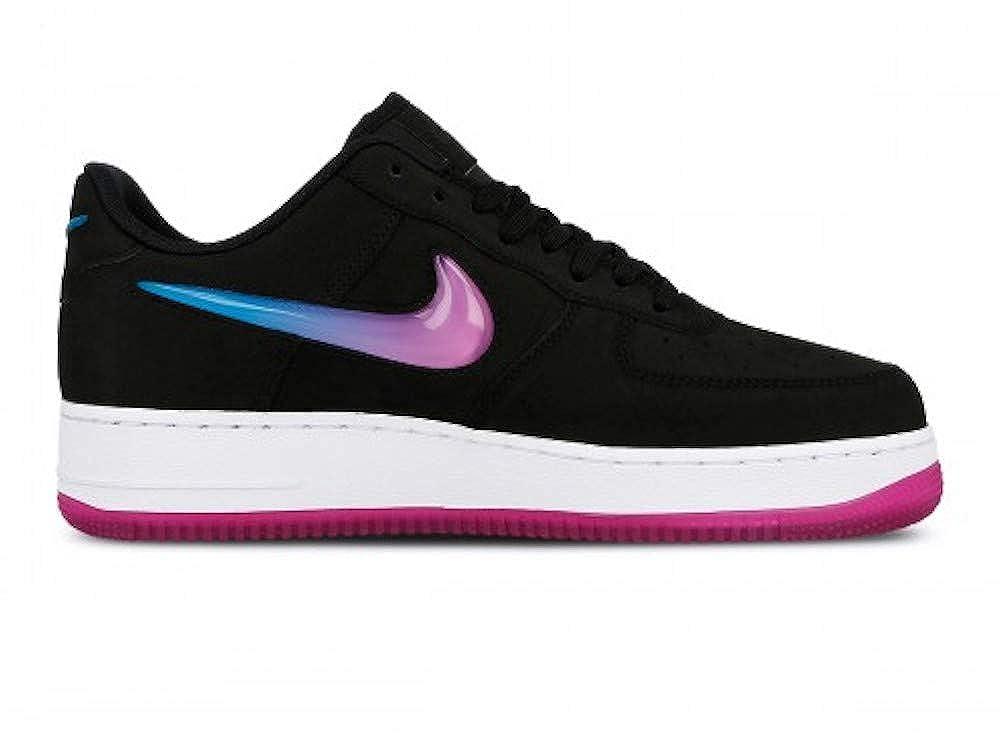 Nike Herren Air Force 1 '07 PRM 2 Basketballschuhe Schwarz