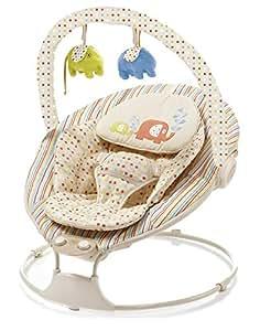 Asalvo 101010 - Hamaca para bebés, diseño elefante, color beige