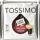 TASSIMO Carte Noire Café Long Intense 16 Tdisc - Lot de 5 (80 Tdisc)