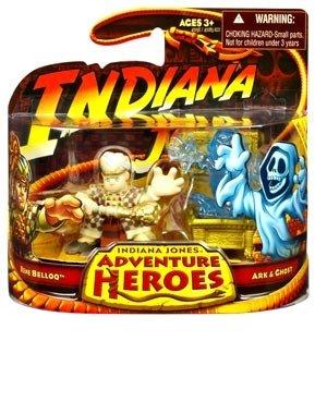 Indiana Jones Adventure Heroes - Rene Belloq and Ark & Ghost