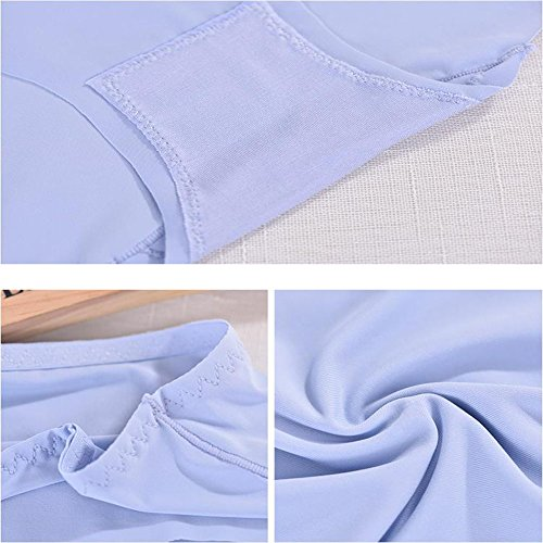 Damen Unterhose Panties sexy High Cut Unterwäsche ultra Soft Bequem Nahtlos Alltags Hüftslip Panty Slips aus Baumwolle 5er Pack
