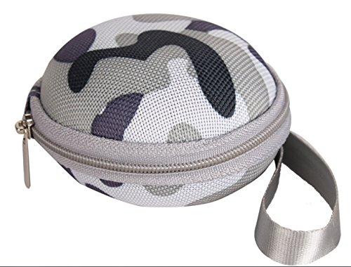 Edifier Hk® Earphone Earbuds Headset Hard EVA Case - Clamshell/mesh Style Inner Pocket and Durable Exterior Earphone In-ear Hard Case/bag Camouflage Gray