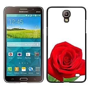 Cuéntame Una Historia De Una Rosa Y yo le informará acerca de Amor - Metal de aluminio y de plástico duro Caja del teléfono - Negro - Samsung Galaxy Mega 2