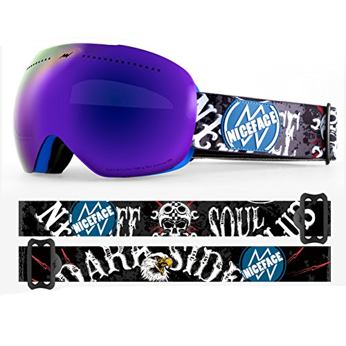 ec6ed4617238d ... Lunette Lentille Lunettes Myopie Compatible H. B07B21K871. SE7VEN  Masques De Ski Adulte