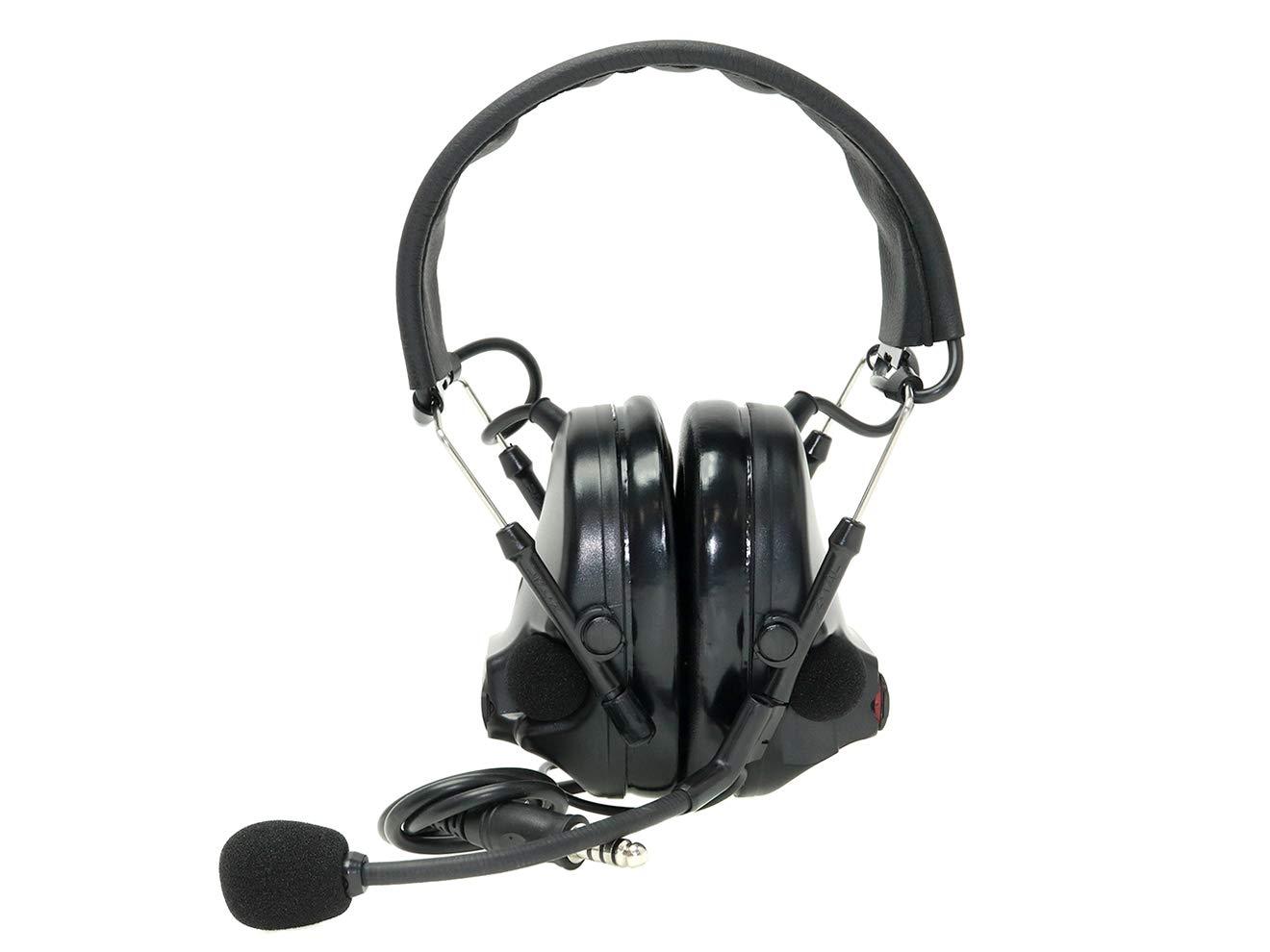 【正規代理店】Z-TACTICAL Comtac III タクティカルヘッドセット BK (ブラック) B07QKRKJNV