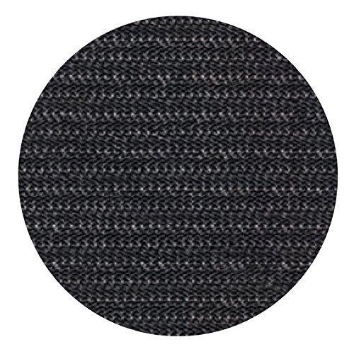 ランチョンマット 5-109-13 丸SLマット(50枚) 黒 ( ブラック ) Φ28.5cm 塩化ビニール 雑貨 インテリア おしゃれ 5-109-13 1個1個   B07FMF3NSF