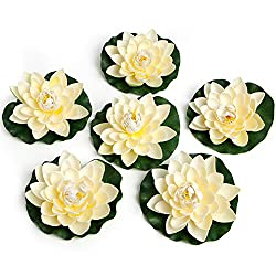 Simply Essentials Best Floating Flowers Set of 6 f
