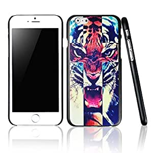 iPhone Cases,6 iphone case colors,cool iphone cases, cute iphone cases, Tiger Roar Cross Hipster Quote Design Iphone 6 (4.7-inch) Cases Black Cover by runtopwell
