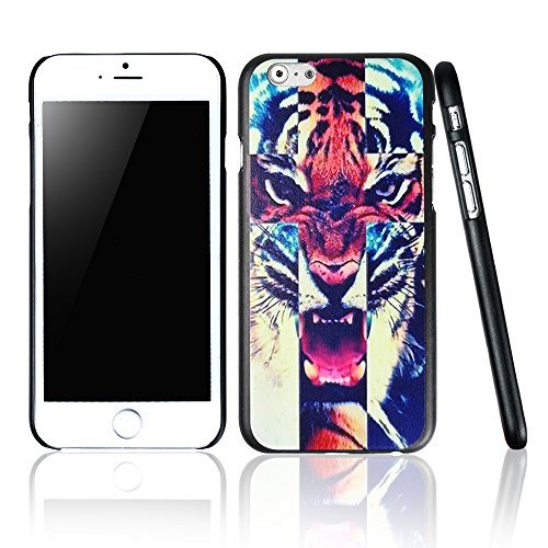 e case colors,cool iphone cases, cute iphone cases, Tiger Roar Cross Hipster Quote Design Iphone 6 (4.7-inch) Cases Black Cover (Tiger Protector Case)