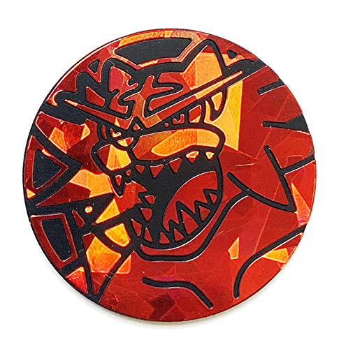 Official Pokemon Coin - Incineroar - Holo FOIL Shiny - Trading Card Game Flipping Coin