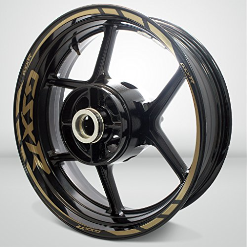 Gold Motorcycle Wheels - 4