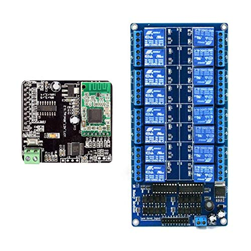Calvas FULL-For iMatic V2 WIFI Network IO Controller + 16 Channels Relay For Arduino Android iOS