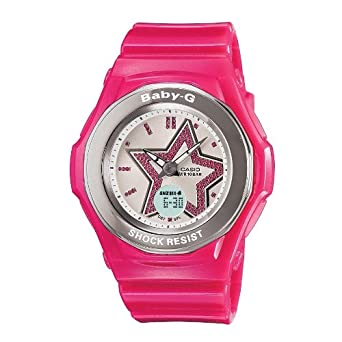 los angeles 8c559 c99d4 Casio baby-g Star BGA103 - 4B orologio rosa: Amazon.it: Orologi