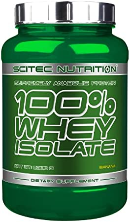 Scitec Nutrition - 100% whey protein isolate, 2000gr ...