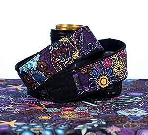 Camera Strap, Sea Life 316, Purple dSLR SLR Mirrorless