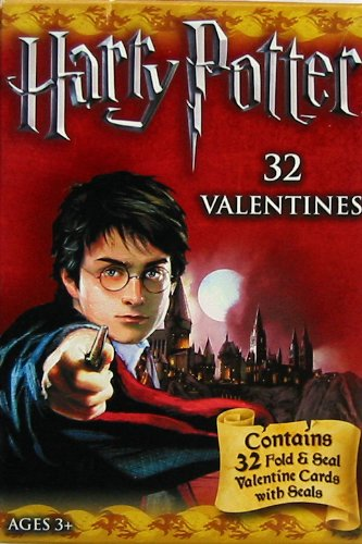 Harry Potter 32 Valentines